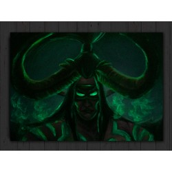 Tištěná kopie, Illidan, World of Warcraft, A3