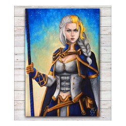 Tištěná kopie, Jaina Proudmoore, World of Warcraft, A3