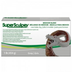Super Sculpey Medium Blend
