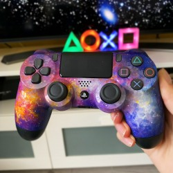 Galaxie PS4 ovladač